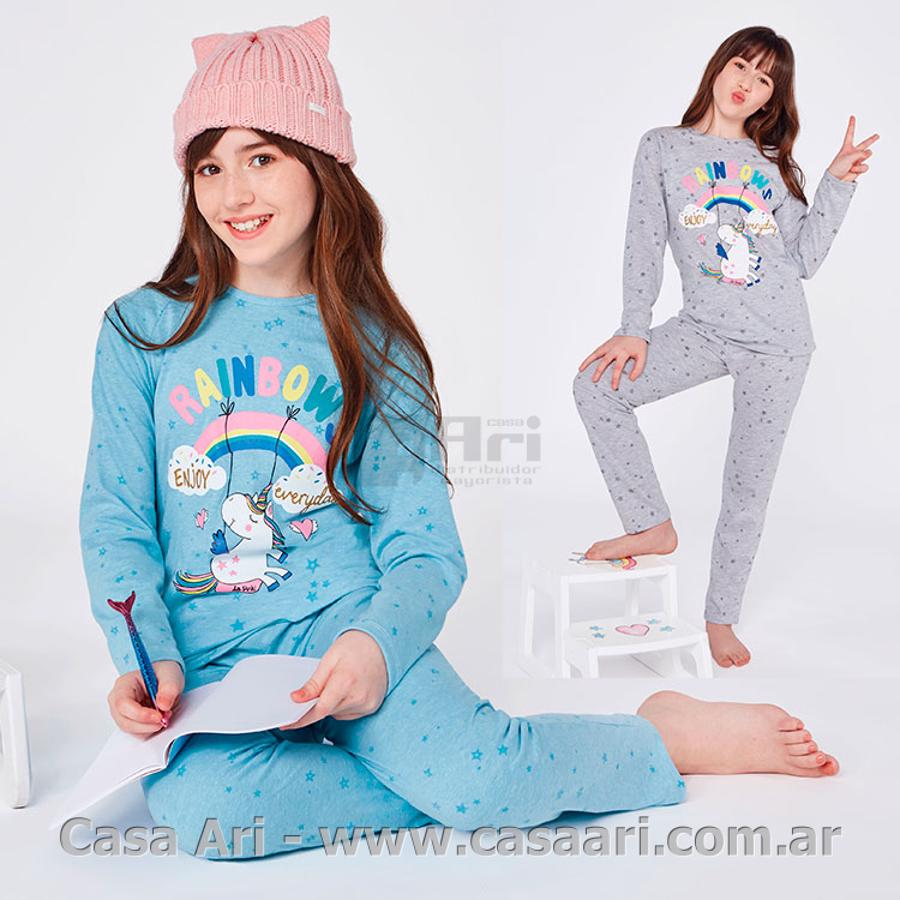 pijama m/l niña so colorfull