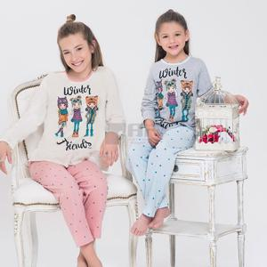 pijama m/l niña winter friends