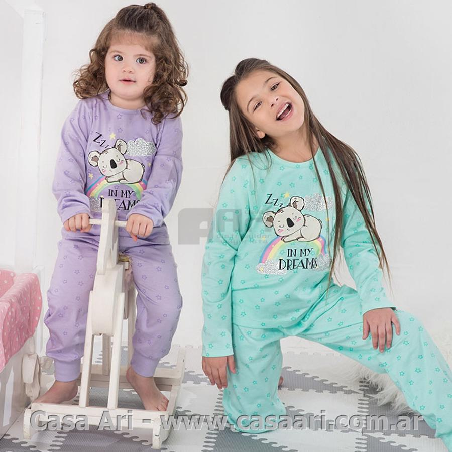 pijama m/largas niñas dreams